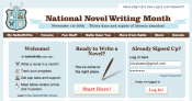 BiblioCrunch is a sponsor of National Novel Writing Month