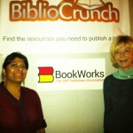 Miral Sattar of BiblioCrunch and Betty Sargent of BookWorks