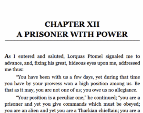 Chapter heading
