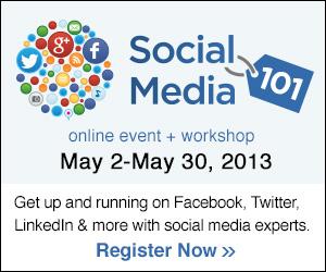 MediaBistro Social Media Workshop