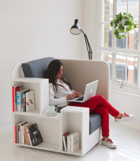 Open Book chair via Studio Tilt