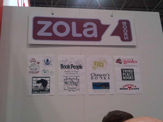 Zola Books Booth