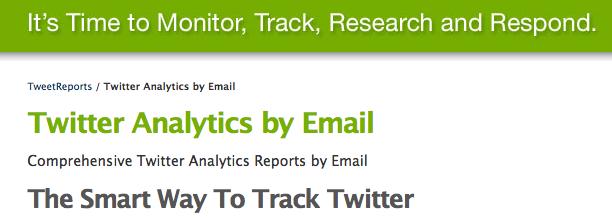 tweetreports.com