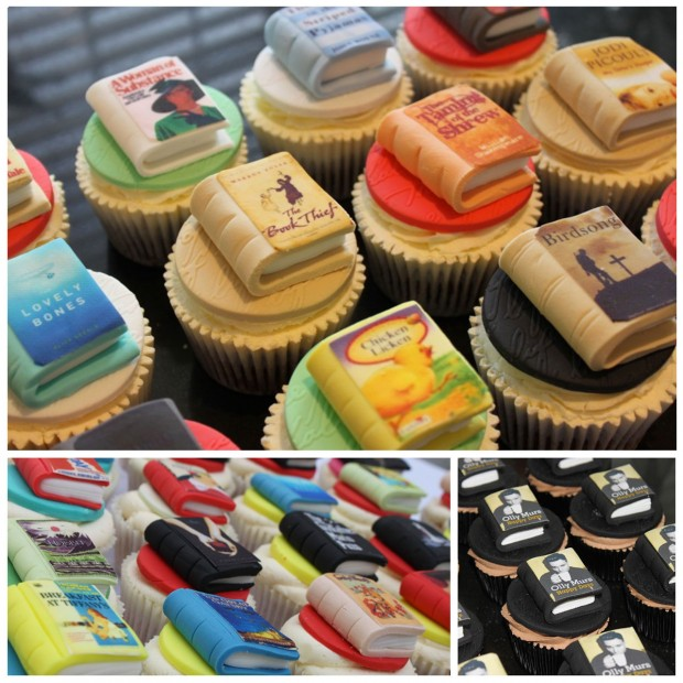 Our Favorite Book-Inspired Cupcakes for Valentine's Day