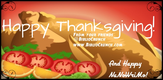 Happy Thanksgiving from BiblioCrunch!