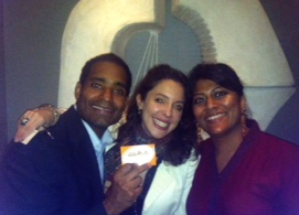 WIth startup founders Obed Cepadia and Antonia Dunbar